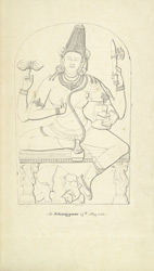 Sculpture of Indrani at Jajpur, Orissa f.12
